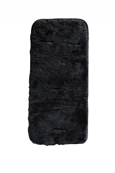 Lammfell-Auflage schwarz
