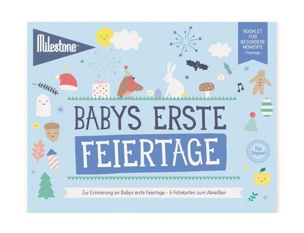 Baby's erste Feiertage Booklet Deutsch