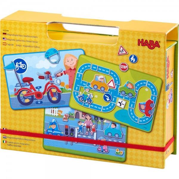 Magnetspielbox Strassenverkehr