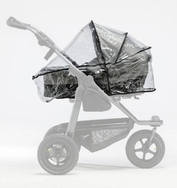 Regenschutz-Set Duo Kombikinderwagen für 2 Wannen