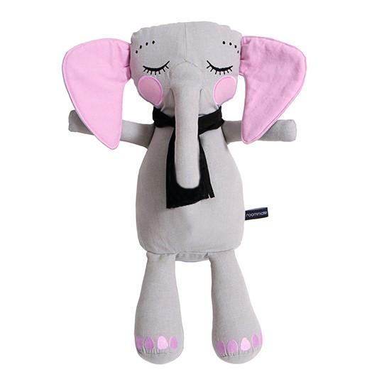 Kleiner Elefant grau Puppe