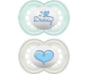 2 Original 6-16 I Love Daddy Blau