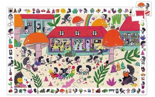 Puzzle Die Igel Schule 35 Teile