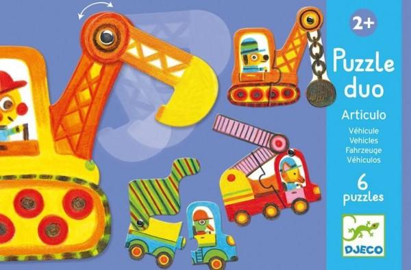 Puzzle Duo Fahrzeuge