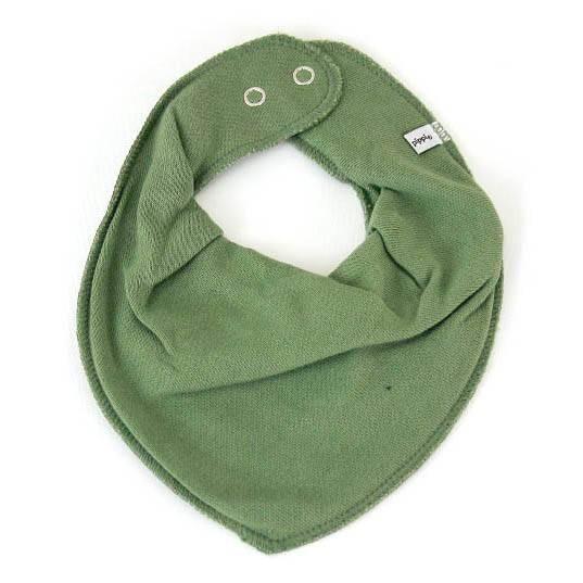 Halstuch mit Druckknopf Dry green