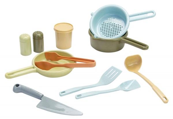 Küchen-Set Bio-Kunststoff 11tlg