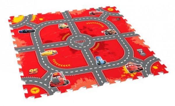 Puzzlematte Cars Race 9tlg