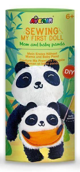 Nähkit Panda