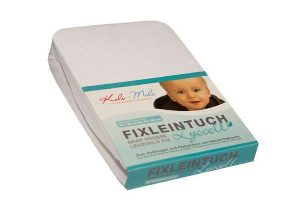 Lyocell Fixleintuch 70/140 weiss