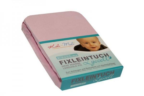 Lyocell Fixleintuch 70/140 rosa