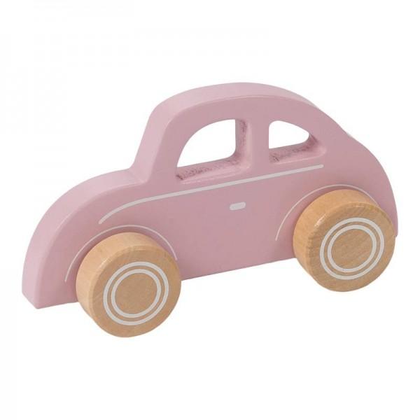 Holz Auto rosa