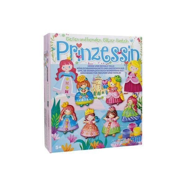 Gips-Malset Prinzessin Glitzer