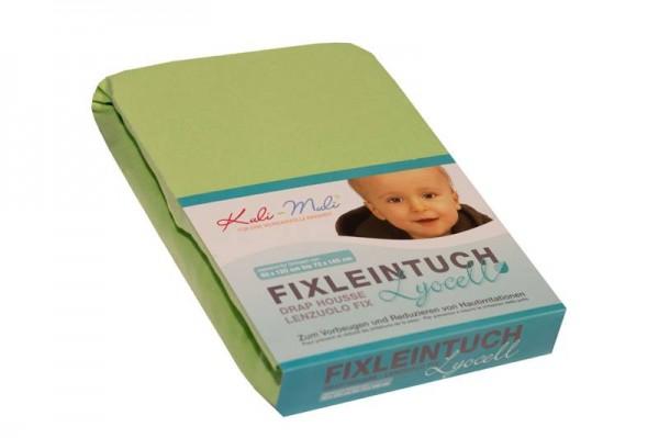 Lyocell Fixleintuch 90/45 lindgrün