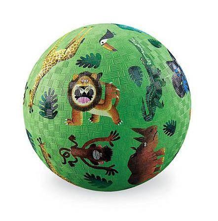 13cm Ball Kautschuk Wilde Tiere