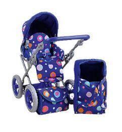 RUBY Puppenwagen blue Splash