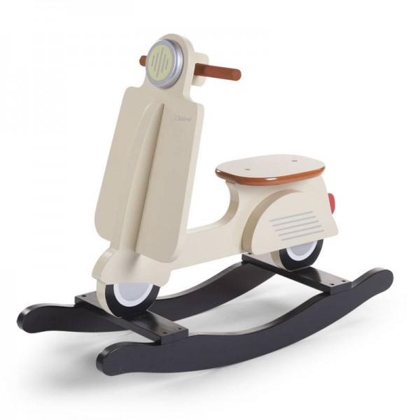 Schaukel-Scooter creme