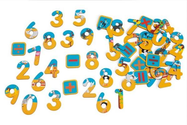 Magnete 60 Zahlen Safari