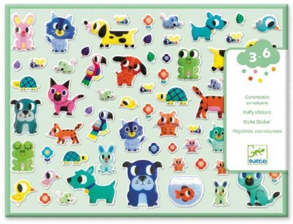 100 Sticker Relief Freunde