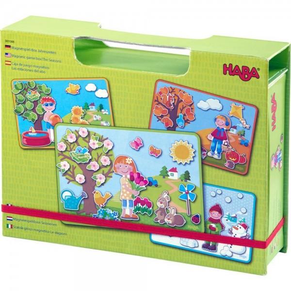 Magnetspielbox Jahreszeiten