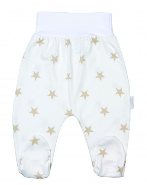 Baby Pant 44 white/beige Stars