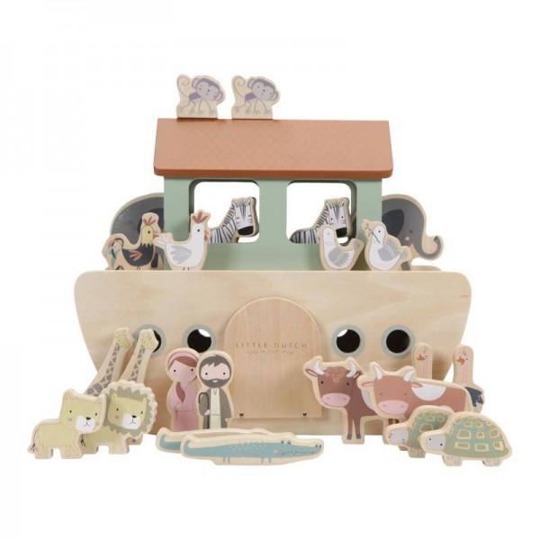 Noah's Arche aus Holz Little Dutch