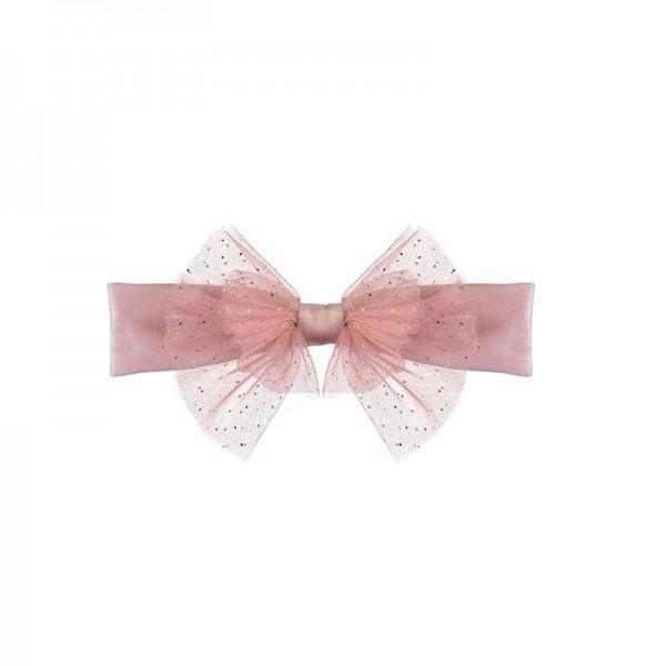 Haarband Candy pink mit Glitzer festlich