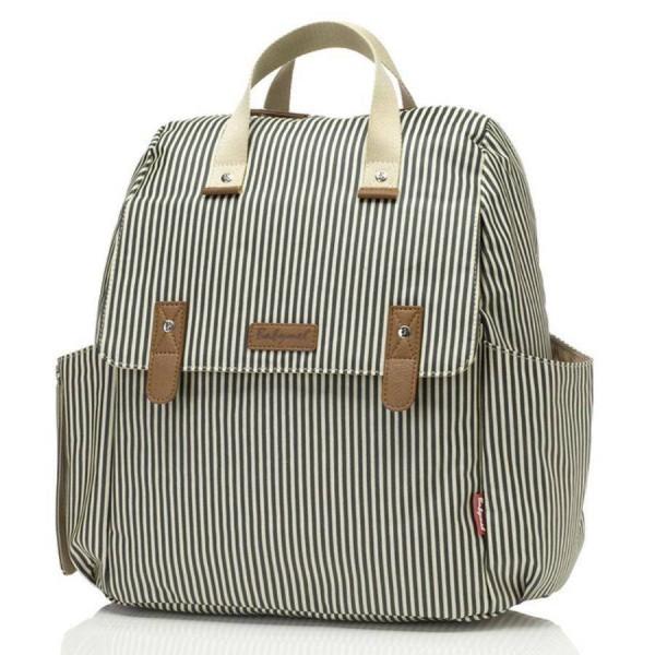 Robyn Conv. Backpack Navy Stripe