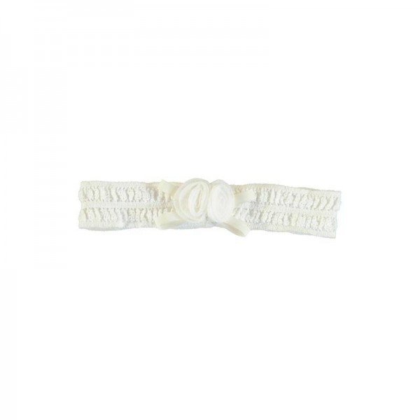 Haarband Spitze offwhite