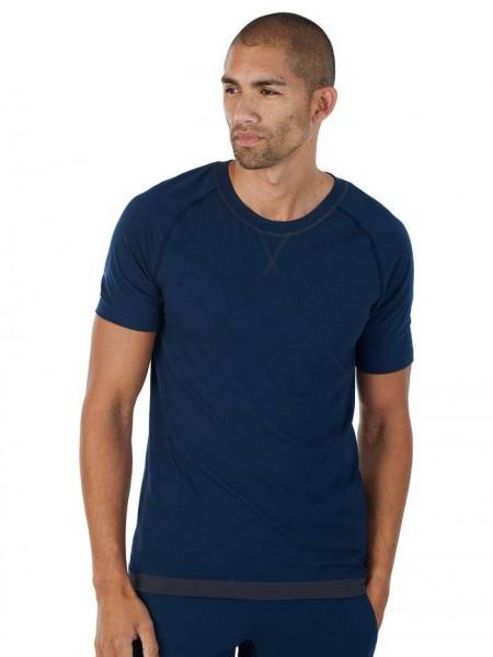Men S T-Shirt midnight blue Balance