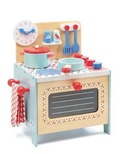 Blaue Kinderküche Rollenspiel