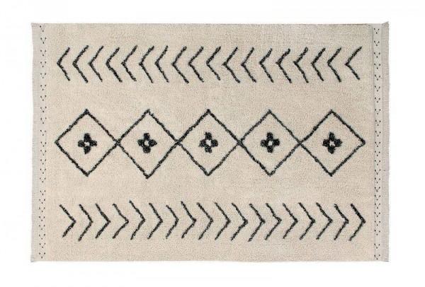 Teppich Bereber Rhombus 140x210 waschbar