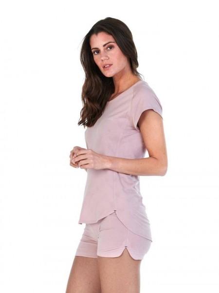Women M T-Shirt dusty pink Balance