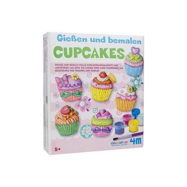 Gips-Malset Cupcake