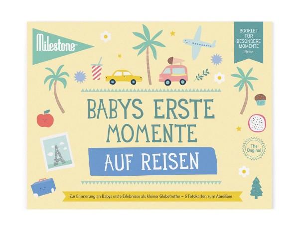 Baby's erste Momente auf Reisen Booklet Deutsch