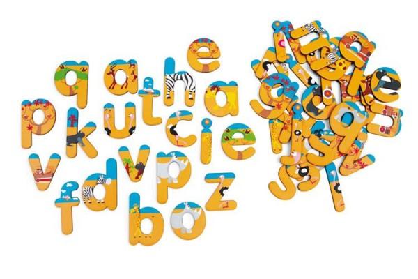 Magnete 60 Buchstaben Safari
