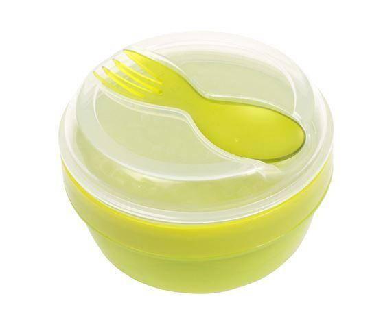 N'ice Cup Snacksbox mit Kühlelement grün