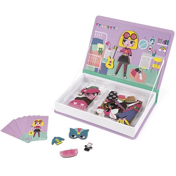 Magnetbuch Kostüme Mädchen