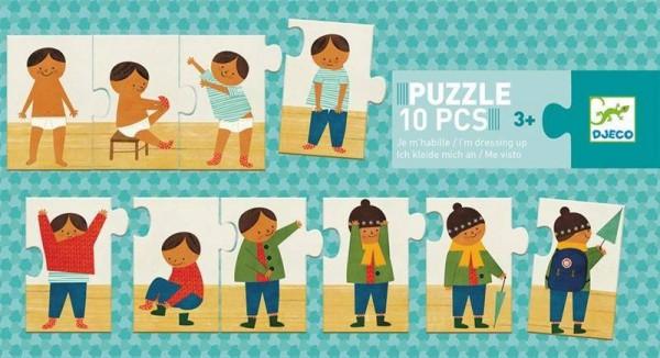 Puzzle Duo Ich kleide mich an