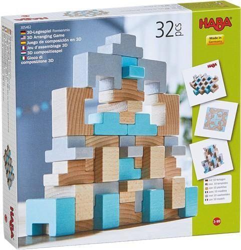 3D-Legespiel Formenmix