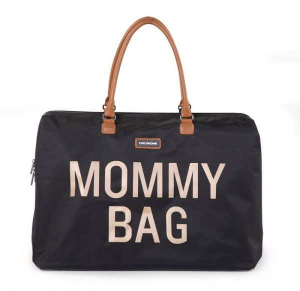Mommy Bag Schwarz Gold