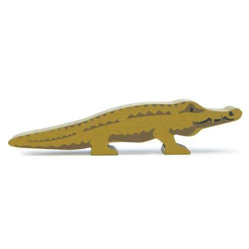 Holztier Krokodil