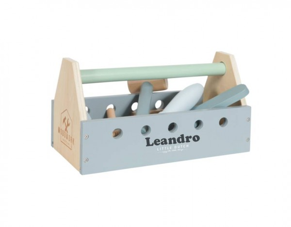 Werkzeugkasten personalisiert 20-teilig Holz