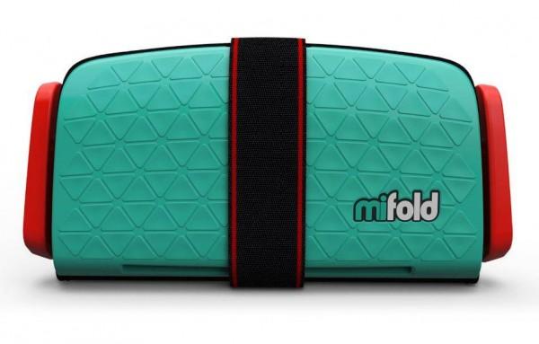 mifold Grab-n-Go Boosterseat lindgrün
